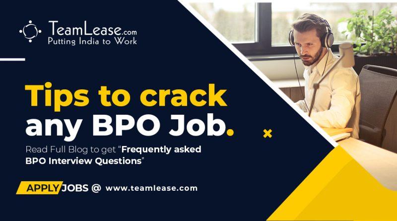 Tips to crack bpo job