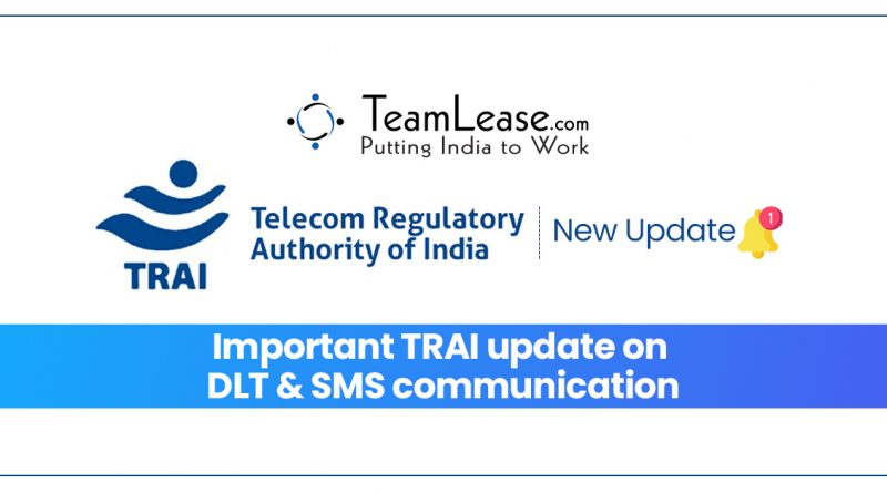 TRAI update