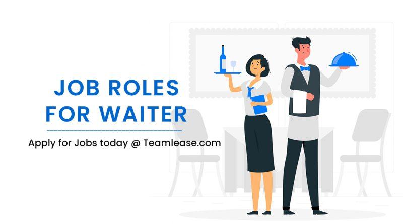 waiter jobs